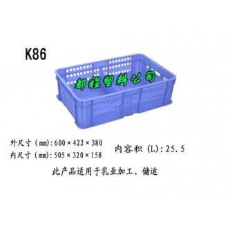 K86塑料周转筐
