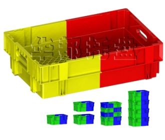 K276双色塑料箱