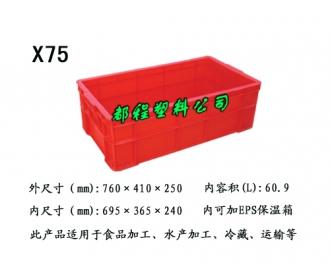 X75塑料周转箱箱