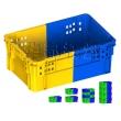 K269双色塑料箱